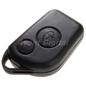 Remote Car Key Case Shell 2 Buttons For Peugeot 306 307 406 Keyless Entry Lock