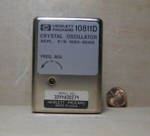 Hp Crystal Oscillator Model 10811d 10 000mhz S n 3044a00274