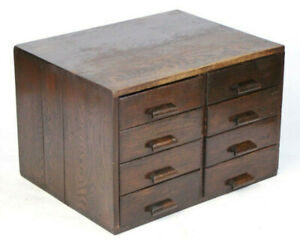 Antique George V Grv Library File Index Card Cabinet Free Shipping Pl2629
