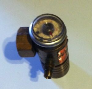 Turbotorch Compressed Acetylene Gas Regulator For mc Tank