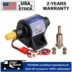 12s 4 7 Psi 35 Gph High Performance Electric Fuel Pump For Use W Carburetor