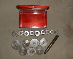 Vintage 1960 S Snap On A1417 Seal Installation Set Snap On Tool Box
