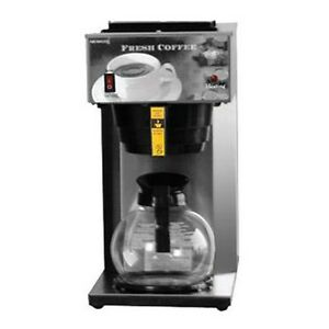 New Coffee Brewer Pour Over 1 Warmer 120v 8 1 2 w X 16 3 8 d X 16 7 8 h