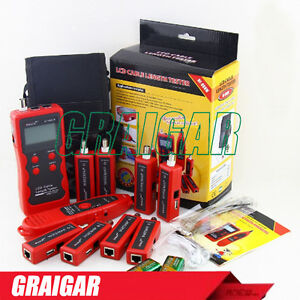 Noyafa Nf 868w Rj11 Rj45 Lan Network Cable Tester Diagnose Tone Bnc Wire Tracker
