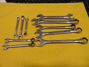 Sk Wayne Wrenches 10 Various Sizes And Types See Below