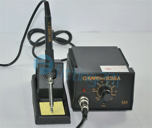 1pcs 936a Smd Rework Iron Soldering Station Solder Iron W Iron Stand