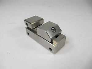 Vst10 Gromax 1 Precision Grinding Stainless Steel Mini Vise Taiwan Made