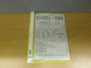 Engel Ec88 cc90 a02 Injections Molding Software Description Manual 13793