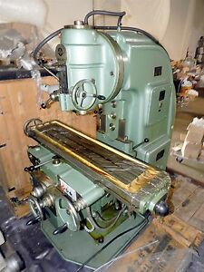 4v 10hp Universal Vertical C frame Mill W New Nt50 Spindle Low Rpm High Torque