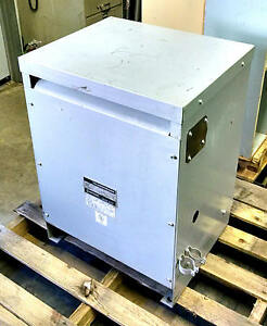 Hitran 27 Kva 460 Volt Delta To 460y 266 D3002744h6 3 Phase 3ph Transformer 460v