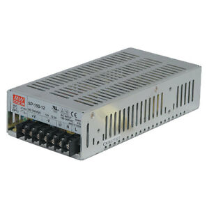 Mean Well Sp 150 12 Ac To Dc Power Supply Single Output 12 Volt 12 5 Amp 150 Wat