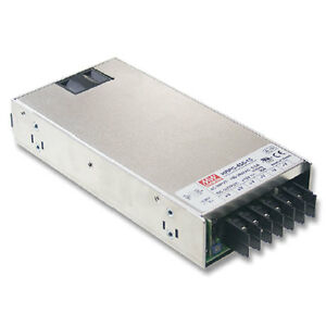 Mean Well Hrp 450 24 Power Supply Switching Pfc Enclosed 451 2 Watt 24vdc 18 8a