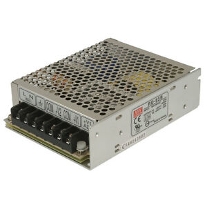 Mean Well Rd 65b Ac To Dc Power Supply Dual Output 5 Volt 24 Volt 8 Amp 3 Amp 68