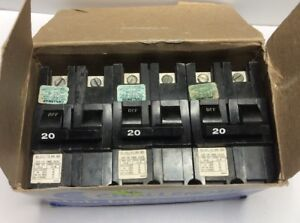 New Circuit Breaker Challenger Fpe Federal Pacific 20 A 2 P Stab lok Na220 Thick