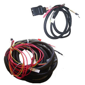 Western Fisher Spreader Wiring Kit Includes Part 63633 And 63634