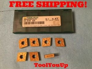 7pcs New Toolflo Jbmgr3meag535 Cnmg 643 Me Ag535 Turning Carbide Inserts Tools