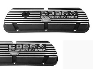 New Ford Mustang Shelby Cobra Open Letter Valve Covers Powered By Ford 289 V8