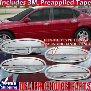 2000 2005 Impala Boneville Le Sabre Chrome Door Handle Covers Overlay W Out Psk
