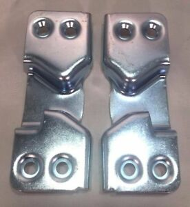 New Pair 2 Of 1947 1951 Chevy Gmc Pickup Truck Door Latch Strikers Plates
