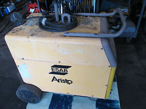 Esab Aristo Welder Lud 450w Multi process Equipment Cv Cc Arc Welding Tig Mig S