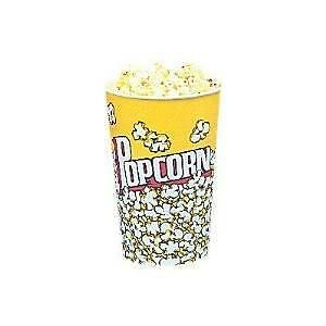 24 Oz Yellow Popcorn Cup 50 Count