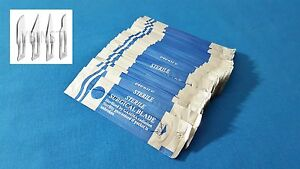 Lot Of 100 Pcs Carbon Steel Sterile Surgical Scalpel Blades 10 10a 11 15
