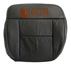 2004 2008 Ford F150 Fx4 4x4 4wd Driver Side Bottom Leather Seat Cover Black