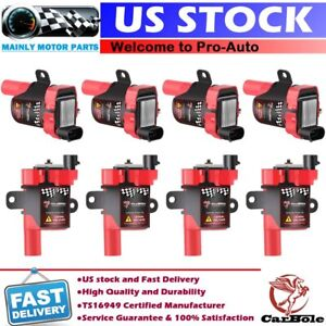 High Performance Ignition Coils 8 Pack For Gmc Chevy C1251 4 8l 5 3l 6 0l D585