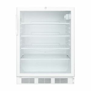 Medical Commercial Built in Under counter 24 All refrigerator Scr600lbi