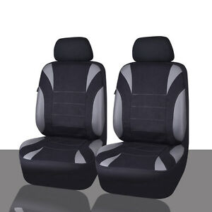Car Pass Universal Fit For Vehicles Neoprene 6pcs Waterproof Car Seat Covers