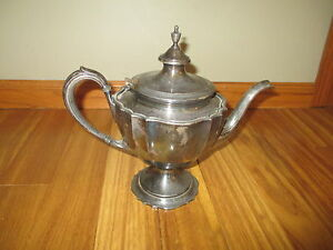 Chippendale International Silver Coffee Pot 6302