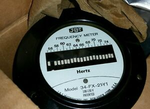 Jbt Instruments Model 34 fx 21 y1 Frequency Meter Vintage New Surplus