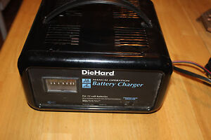 diehard 6v 12v battery charger and maintainer owners manual