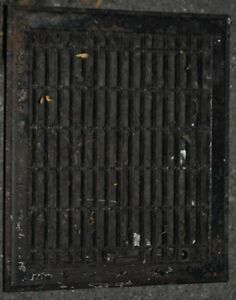 Vintage Floor Wall Heat Register Metal Vent Antique Grate