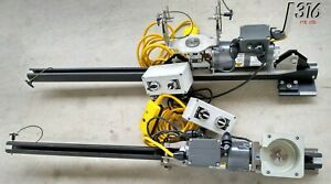 7210 Novellus Baldor Electric Hoist Steel Wire Cable Winch 100lbs 02 350345 00