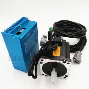 4 5nm Nema34 Closed Loop Stepper Hybrid Servo Drive Motor Ac60v For Cnc Engraver
