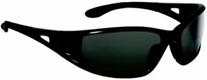 Bolle Lowrider Safety Glasses With Black Frame And Polarized Smoke Lens