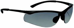 Bolle Contour Safety Glasses Gunmetal Frame Grey Polarized Anti scratch Lens