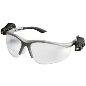 3m Light Vision2 Led Bifocal Safety Glasses With Clear Anti fog Lens