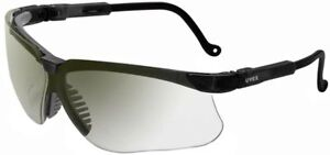 Uvex Genesis Safety Glasses With Black Frame And Ref50 Lens