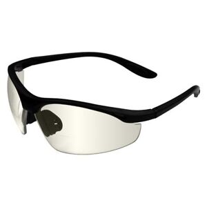 Radians Cheaters Bifocal Safety Glasses With Indoor outdoor Lens