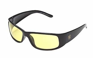 Smith Wesson Elite Safety Glasses With Black Frame And Amber Anti fog Lens