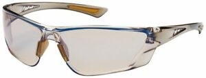 Bouton Recon Safety Glasses Brown Temple Indoor outdoor Blue Anti fog Lens