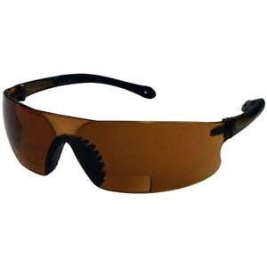 Radians Rad sequel Rsx Bifocal Safety Glasses With Coffee Lens
