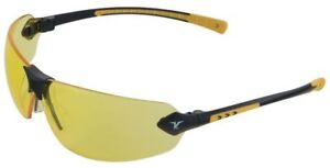 Encon Veratti 429 Safety Glasses With Gray Temple Accent And Amber Anti fog Lens
