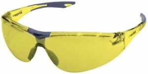 Elvex Avion Safety Glasses With Gray Temple Tip And Amber Lens