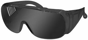 Radians Chief Overspec Safety Glasses With Smoke Lens Ansi Z87