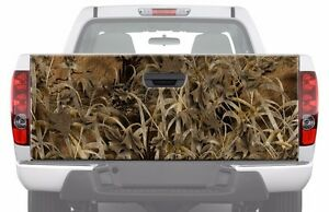 Camo Grassland Tailgate Graphic Decal Sticker Pickup Truck Ford Chevy Dodge Ute