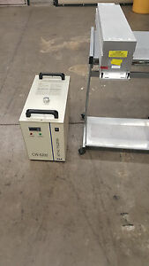 75 Watt Water Cooled Universal Laser Co2 With Water Chiller Included