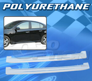 Type 4 Polyurethane Pu Add On Side Skirt For 11 12 Chevy Cruze
